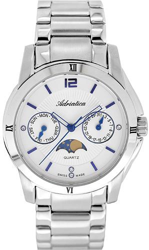 Zegarek damski Adriatica bransoleta A3626.51B3QFZ - duże 1