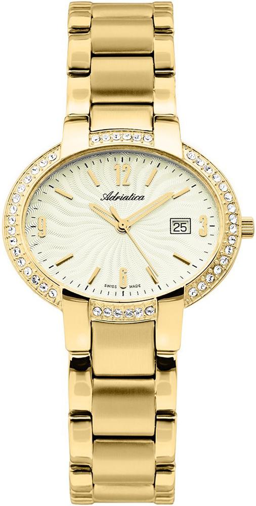 Zegarek damski Adriatica bransoleta A3627.1151QZ - duże 1