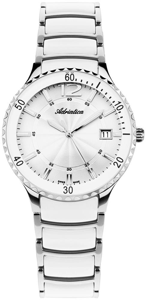 Zegarek damski Adriatica bransoleta A3681.C153Q - duże 1