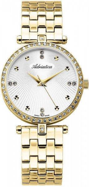 Zegarek damski Adriatica bransoleta A3695.1143QZ - duże 1