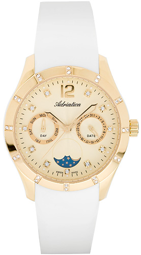 Zegarek damski Adriatica pasek A3698..1271QFZ - duże 1