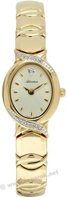 Zegarek damski Adriatica bransoleta A4527.1111QZ - duże 1
