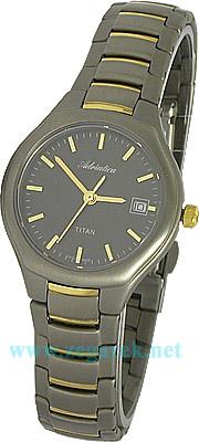 Zegarek damski Adriatica tytanowe A5201.6114 - duże 1