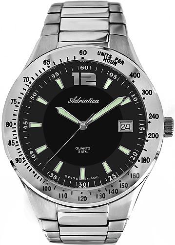 Zegarek męski Adriatica bransoleta A8057.5154Q - duże 1