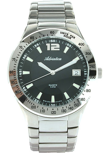 Zegarek męski Adriatica bransoleta A8057.5154 - duże 1