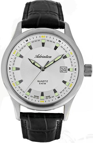 Zegarek męski Adriatica bransoleta A8102.5113Q - duże 1