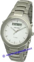 Zegarek męski Adriatica tytanowe A8200.4112Q - duże 1