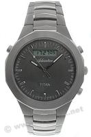 Zegarek męski Adriatica tytanowe A8200.4114 - duże 1