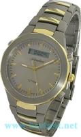 Zegarek męski Adriatica tytanowe A8200.6117 - duże 1