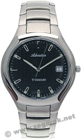 Zegarek męski Adriatica tytanowe A8201.4114 - duże 1
