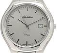 Zegarek męski Adriatica tytanowe A8201.4117 - duże 2