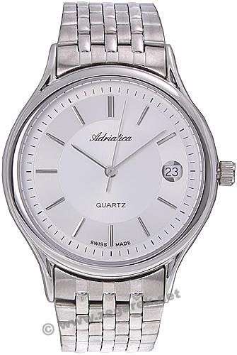 Zegarek męski Adriatica bransoleta A9001.3113 - duże 1