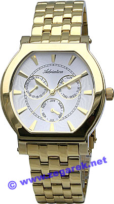 Zegarek męski Adriatica bransoleta A9003.1113QF - duże 1