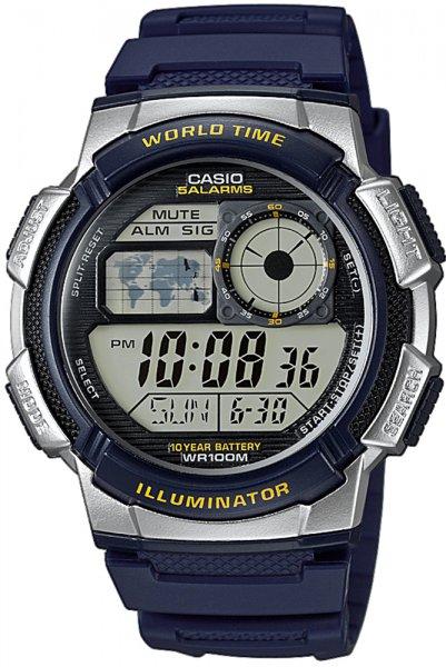 AE-1000W-2AVEF - zegarek męski - duże 3