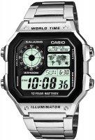 Zegarek męski Casio sportowe AE-1200WHD-1A-POWYSTAWOWY - duże 1