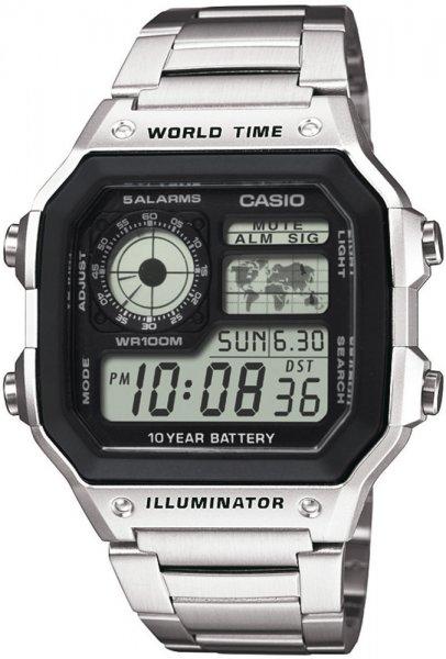 Zegarek Casio AE-1200WHD-1AVEF - duże 1