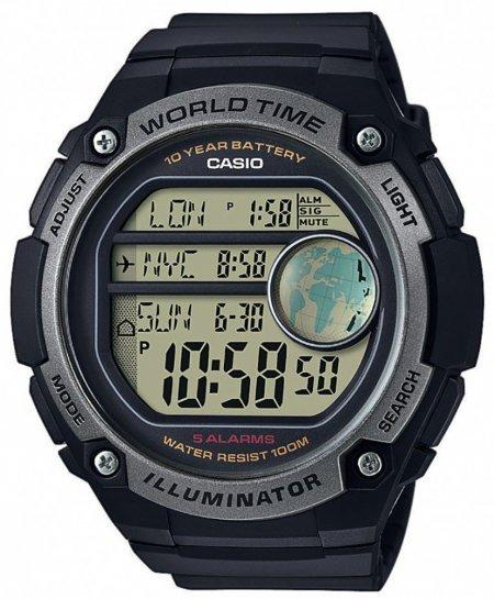 AE-3000W-1AVEF - zegarek męski - duże 3