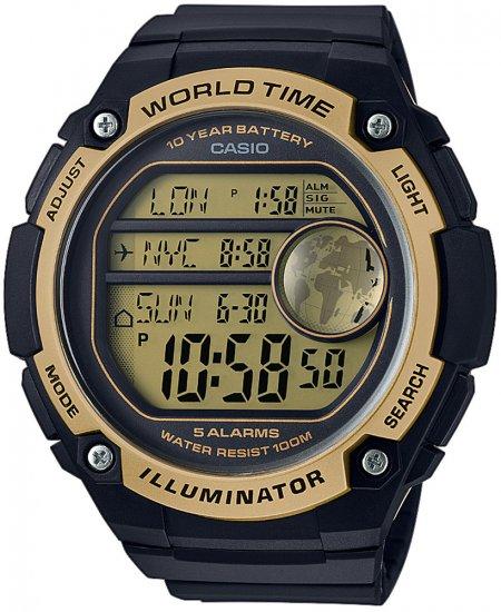 AE-3000W-9AVEF - zegarek męski - duże 3