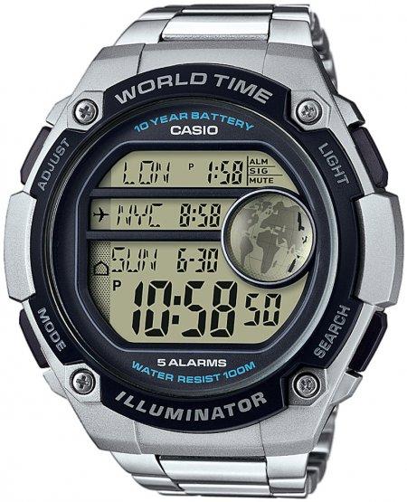 AE-3000WD-1AVEF - zegarek męski - duże 3