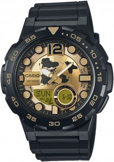 zegarek męski Casio AEQ-100BW-9AVEF