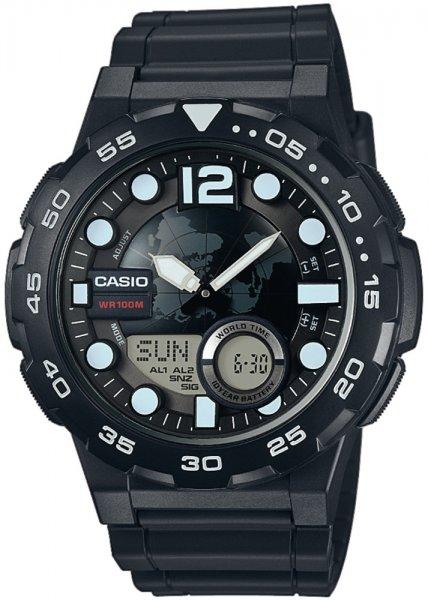 AEQ-100W-1AVEF - zegarek męski - duże 3