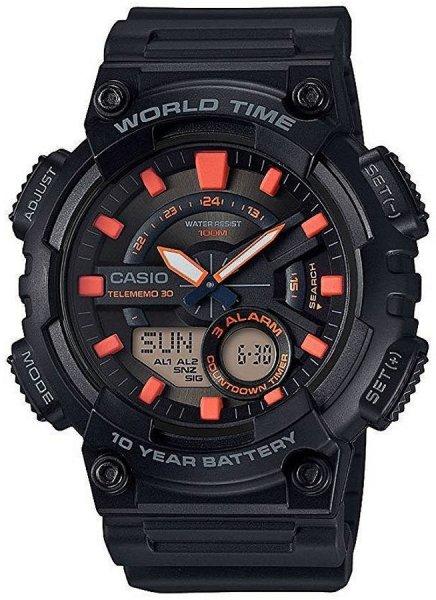 AEQ-110W-1A2VEF - zegarek męski - duże 3