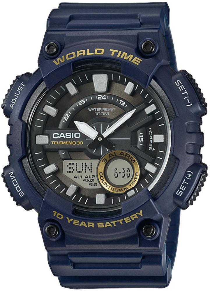 Zegarek męski Casio Sportowe AEQ-110W-2AVEF - zdjęcie 1