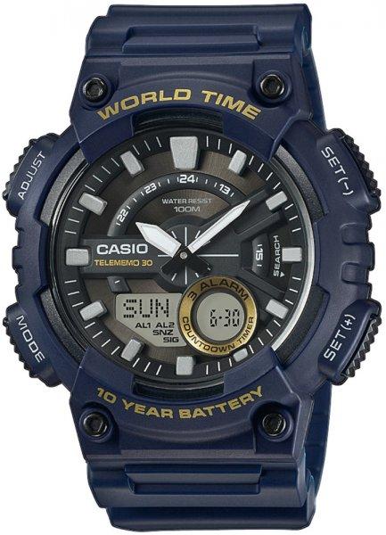 AEQ-110W-2AVEF - zegarek męski - duże 3