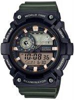 Zegarek męski Casio sportowe AEQ-200W-3AVEF - duże 1