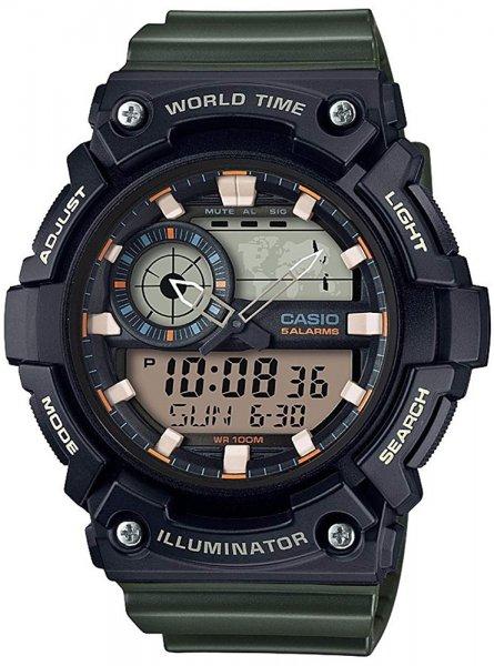 Zegarek Casio AEQ-200W-3AVEF - duże 1