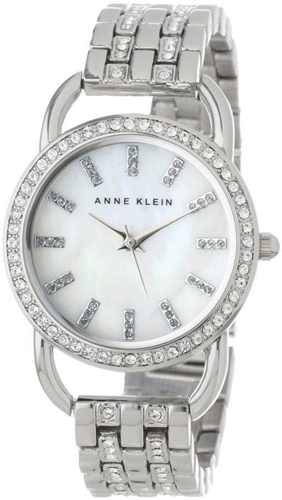 Zegarek damski Anne Klein bransoleta AK-1263MPSV - duże 1