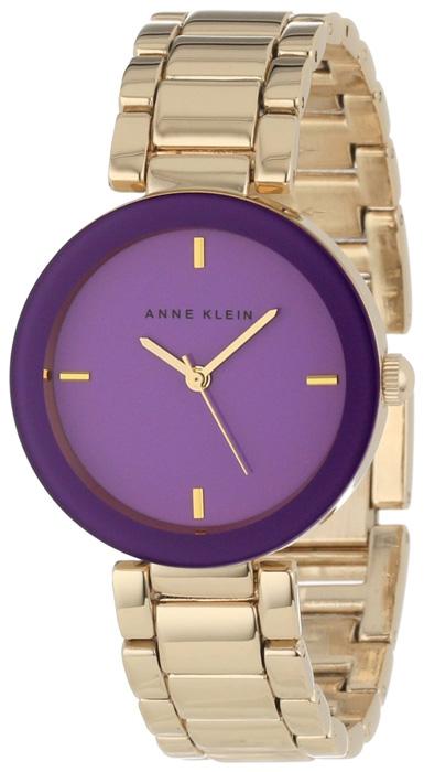 Zegarek damski Anne Klein bransoleta AK-1290PRGB - duże 1