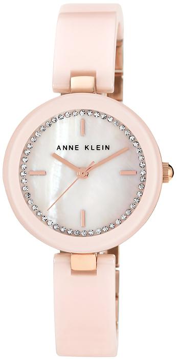 Zegarek damski Anne Klein bransoleta AK-1314RGLP - duże 1