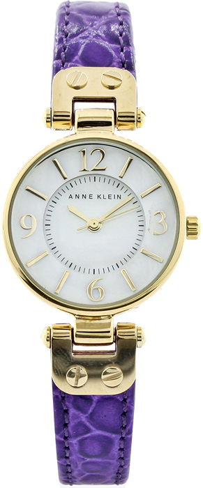 Zegarek damski Anne Klein pasek AK-1394MPPR - duże 1