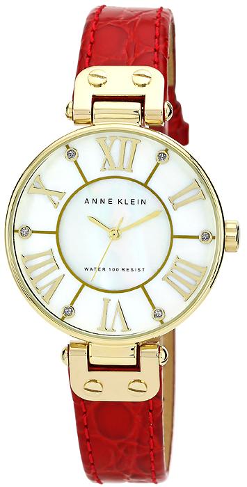 Zegarek damski Anne Klein pasek AK-1396MPRD - duże 1