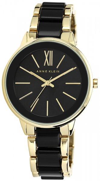 Zegarek damski Anne Klein bransoleta AK-1412BKGB - duże 1