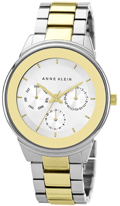 Zegarek damski Anne Klein bransoleta AK-1417SVTT - duże 1