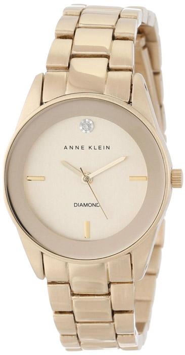 Zegarek damski Anne Klein bransoleta AK-1434CHGB - duże 1