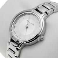 Zegarek damski Anne Klein bransoleta AK-1449SVSV - duże 2