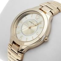 Zegarek damski Anne Klein bransoleta AK-1450CHGB - duże 2