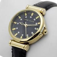 Zegarek damski Anne Klein pasek AK-1458BKBK - duże 2