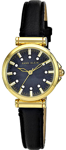 Zegarek damski Anne Klein pasek AK-1458BKBK - duże 1
