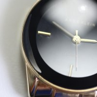 Zegarek damski Anne Klein bransoleta AK-1784GBST-POWYSTAWOWY - duże 2