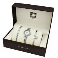 Zegarek damski Anne Klein bransoleta AK-1869SVST - duże 2