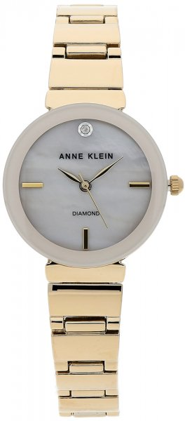 Zegarek damski Anne Klein pasek AK-2434PMGB - duże 1