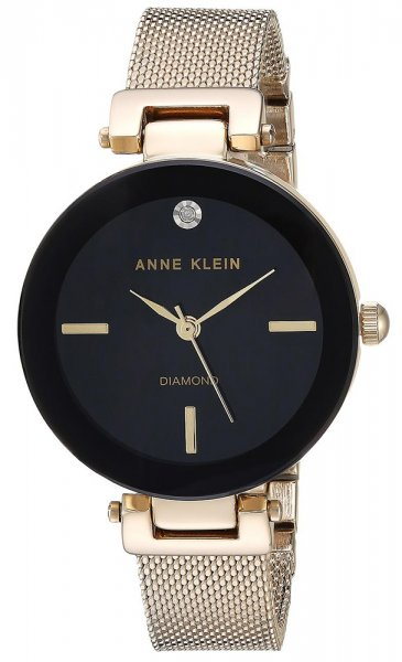 Zegarek Anne Klein AK-2472BKGB - duże 1