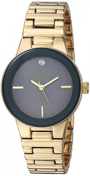Zegarek damski Anne Klein bransoleta AK-2670GMGB - duże 3