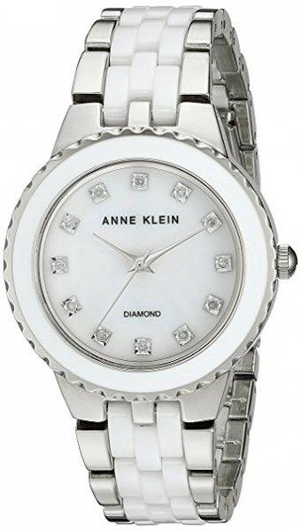 Zegarek damski Anne Klein bransoleta AK-2713WTSV - duże 1