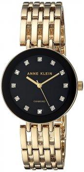 zegarek damski Anne Klein AK-2944BKGB