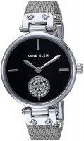 Zegarek damski Anne Klein bransoleta AK-3001BKSV - duże 1